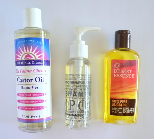 consejos crecimiento del cabello aceites naturales coco castor jojoba