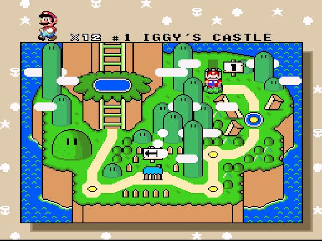 Primeiro castelo super mario world