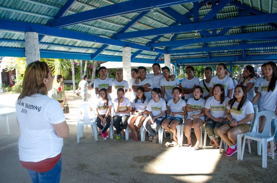1st Team Building Program For Fg Cebu Gadget Shop Held On Labor Day 2016 Cebu Teambuilding