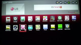 شرح تطبيق SSiptv على شاشات LG Smart