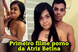 Primeiro porno da novinha Betina