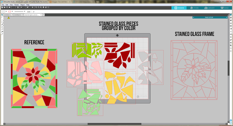 Stained Glass Window Template