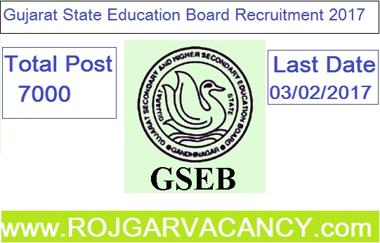 7000-vidya-sahayak-head-master-gujarat-GSEB-Recruitment-2017