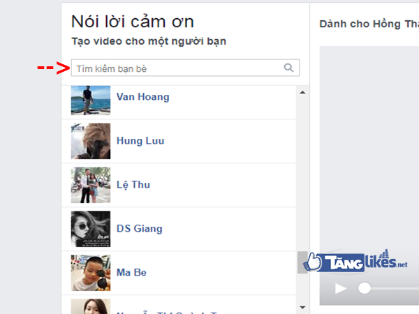 tao video tren facebook