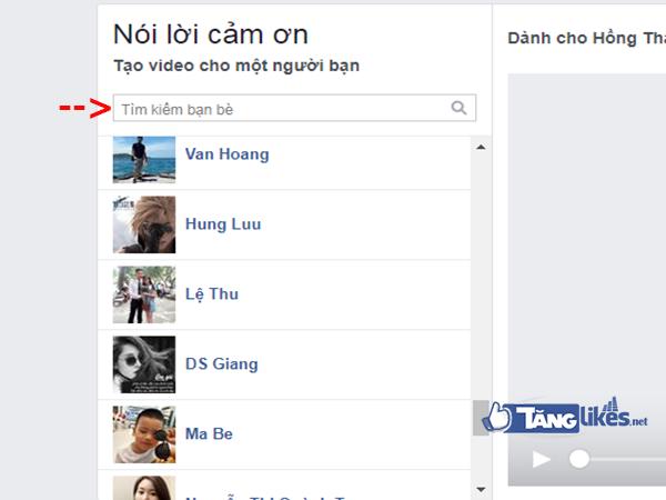 tao video tren facebook