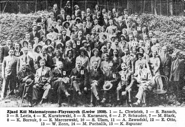Zjazd Kół Matematyczno-Fizycznych (Lwów 1930)
