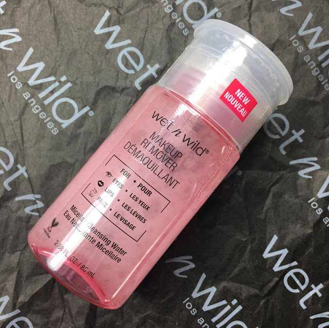 wet n wild micellar cleaning water makeup remover
