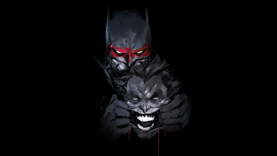Batman, Joker, Art, 4K, #6.2442