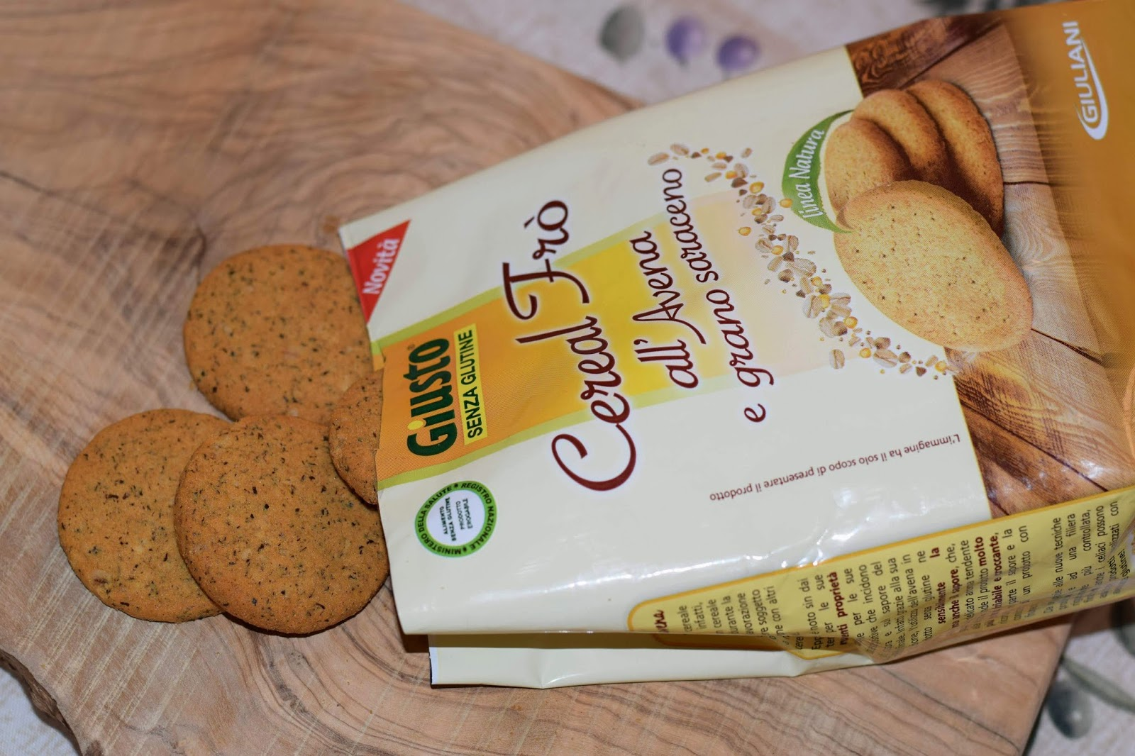 dieta senza glutine biscotti
