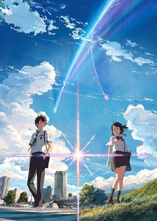 تقرير فيلم الانمي Kimi no Na wa. (اسمك)