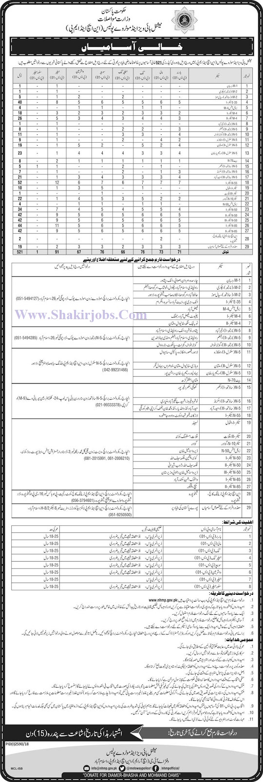 national highway and motorway police jobs 2018 jobs in pakistan www.nhmp.gov.pk application form aiou www.nhmp.gov.pk application form motorway police helpline jobs in motorway police december 2018 ppsc national highway motorway police jobs Motorway Police Jobs December 2018  motorway police jobs 2018 upcoming  motorway police jobs 2018 fpsc  motorway police jobs 2018 advertisement  motorway police jobs application form 2018  motorway police jobs 2018 punjab  motorway police jobs 2018 apply online  motorway police jobs 2018 in pakistan  national highways & motorway police