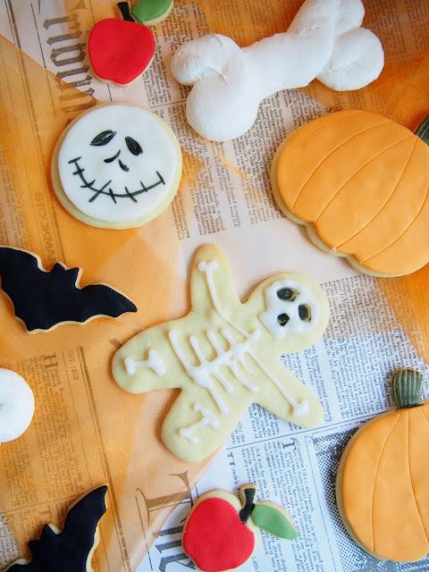 Halloween-kuvausten tunnelmaa