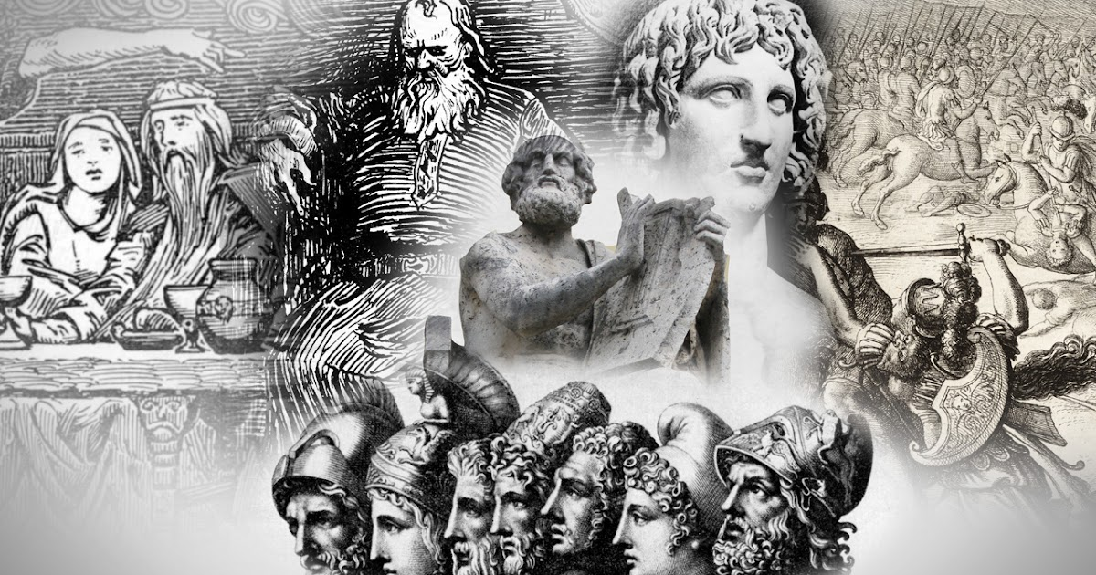 Greek, Roman, Briton And Norse Mythology All Feature The Land of Troy