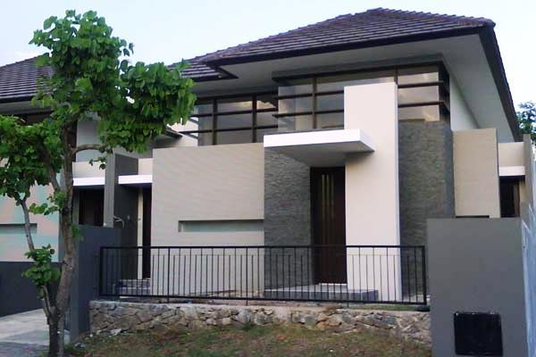 Desain Rumah Type 45 Modern 2 Lantai Minimalis