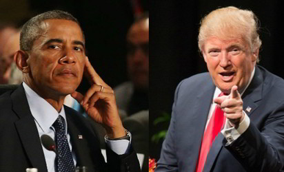 NO WAY! Trump replies Obama on third term