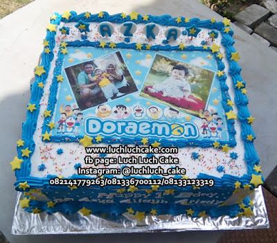 Birthday Cake Doraemon Edible Image
