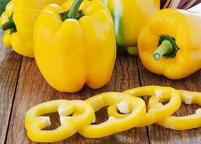 الفلفل الأصفر الحلو من اغنى الاغذية بفيتامين ج
