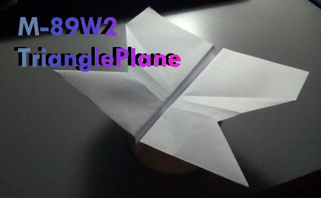 Avión de papel M-89