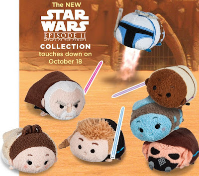 Star Wars: Attack of the Clones Tsum Tsum Plush Collection by Disney