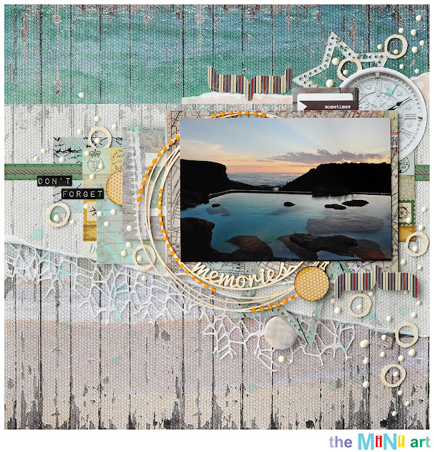 memories | Mini-Art DT @akonitt #layout #by_marina_gridasova #fabscraps #scrapbooking