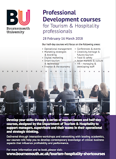 Executive Education Tourism and Hospitality Bournemouth University
