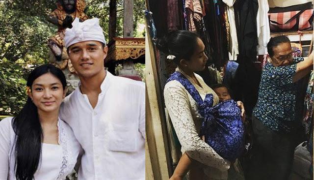 Dinikahi Keturunan Raja, Happy Salma Tak Malu ke Pasar Gendong Anak Pakai Kain