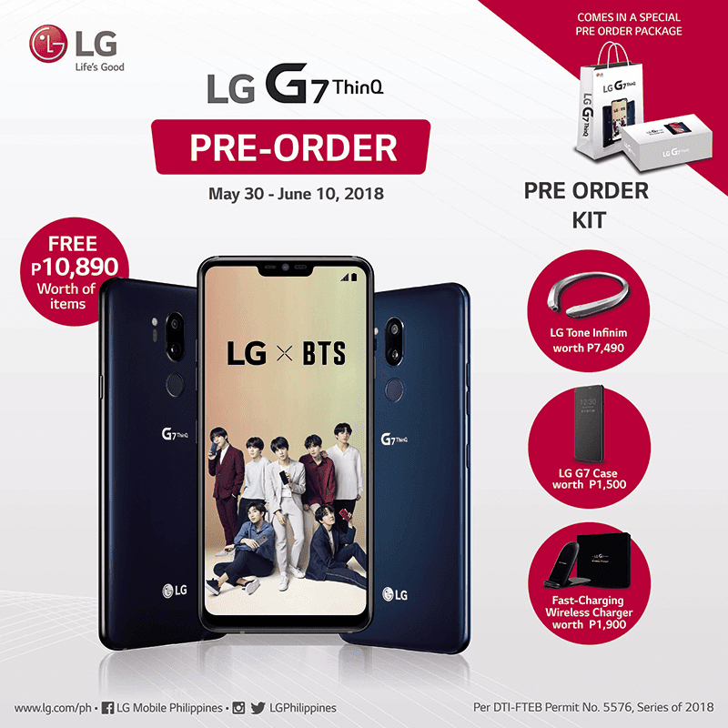 LG announces pre-order details for G7 ThinQ in PH!