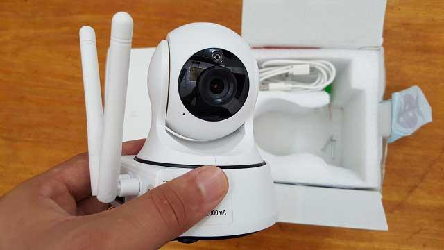 طريقة ربط كاميرا المراقبة واي فاي والتحكم بها من خلال الهاتف