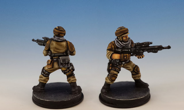 Fenn Signis, Imperial Assault FFG (2014, sculpted by Benjamin Maillet)