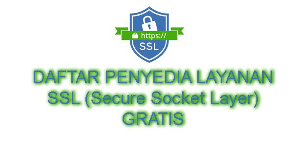 Layanan SSL Gratis