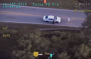 Terrence Crutcher Shot By Police DID NOT Have His Hands Up (VIDEO)