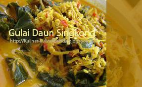 Resep Masakan Gulai Daun Singkong Padang