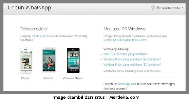 Aplikasi WhatsApp Sudah Tersedia Untuk Versi PC dan Mac