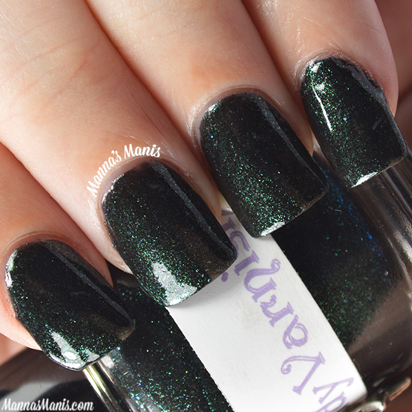 The Lady Varnishes Master of Suspense Abduction swatches