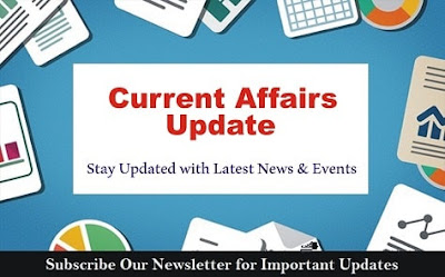 Current Affairs Updates: 3rd September