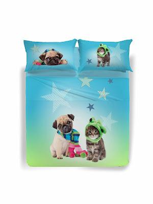 Star de Caleffi Studio Pets by Myrna. Juego de sábanas