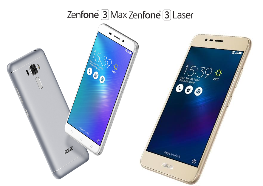 ASUS Philippines Confirms Arrival of ZenFone 3 Laser and ZenFone 3 Max in the Country this August