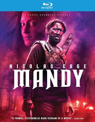 Mandy 2018 Blu Ray