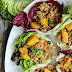 Asian Style Chicken and Pineapple Lettuce Wraps