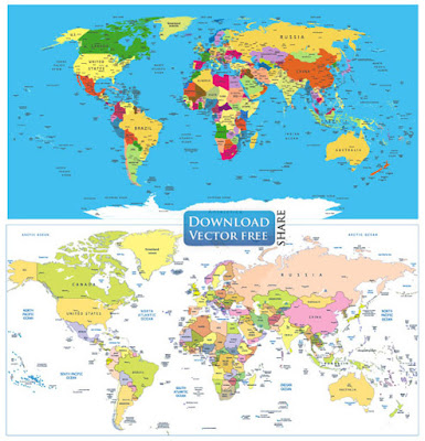 2-mau-do-hoa-ve-ban-do-the-gioi-political-world-map-vector-6498