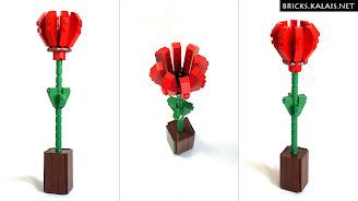 [MOC] Kwiatek z LEGO
