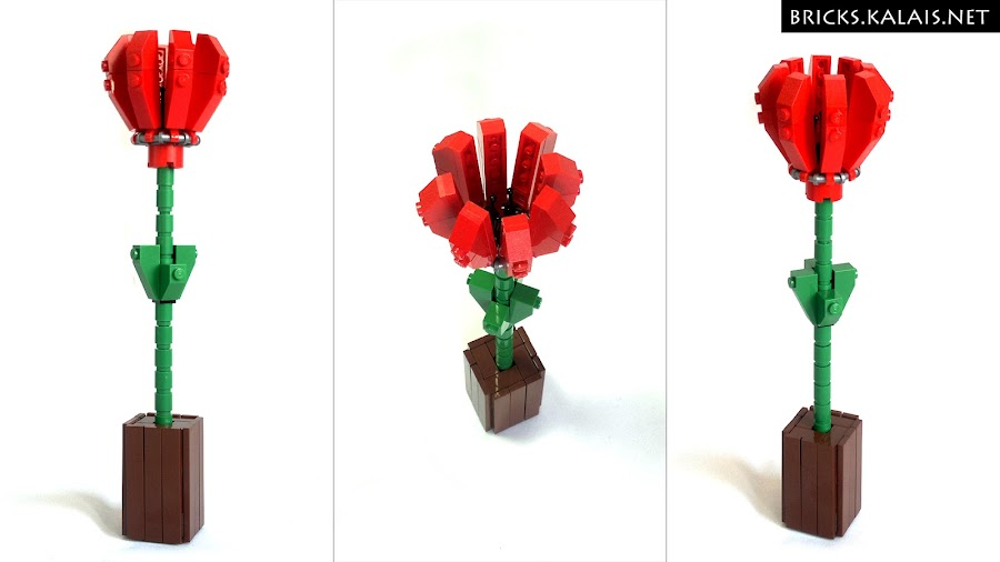 1. LEGO flower