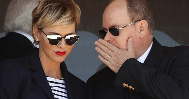 bf9a999f904ba Everything Just So: Princess Charlene and Her Cartier Trinity Ruban ...