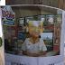 Cartazes contra o chefe do Caju foram espalhados na comunidade