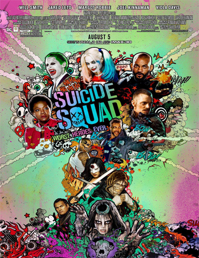 Ver Escuadrón Suicida (Suicide Squad) (2016) Online