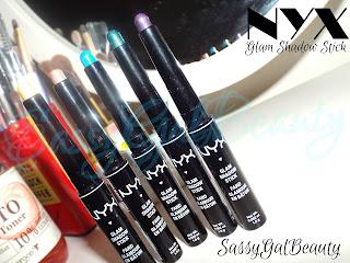 NYX Glam Shadow Stick: 5 Piece Set