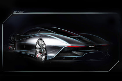 """McLaren's three-seat hypercar will be its fastest ever road car """"BP23"""" 2017"""