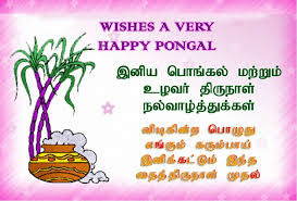 Happy Pongal Images Wishes in English Tamil 2017
