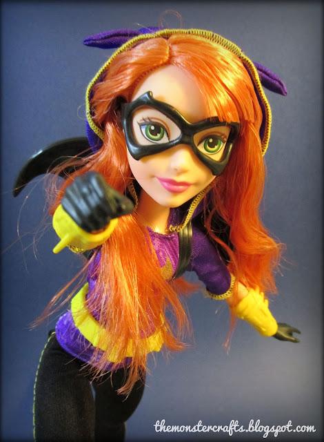 DC Super Hero Girls Batgirl review monster crafts blog