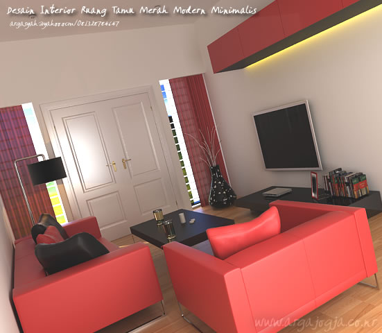 Rumah Minimalis Furniture Ruang Tamu Rumah Minimalis